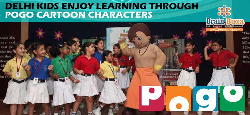 Delhi kids enjoy learning through POGO cartoon characters