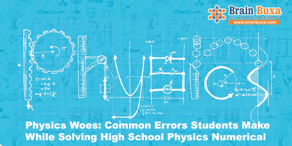 Physics Woes: Common Errors Students Make While Solving High School Physics Numerical