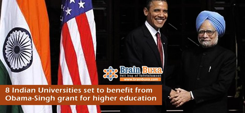 8 Indian Universities set to benefit from Obama-Singh grant for higher education