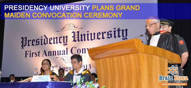 Presidency University plans grand maiden convocation ceremony