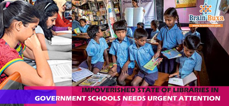 Impoverished state of libraries in government schools needs urgent attention