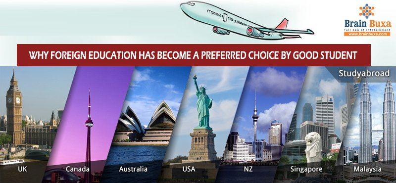 WHY FOREIGN EDUCATION HAS BECOME A PREFERRED CHOICE BY GOOD STUDENT
