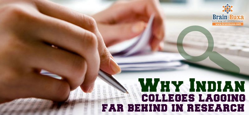 Why Indian colleges lagging far behind in research