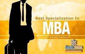 Best Specialization in MBA