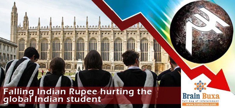 Falling Indian Rupee hurting the global Indian student
