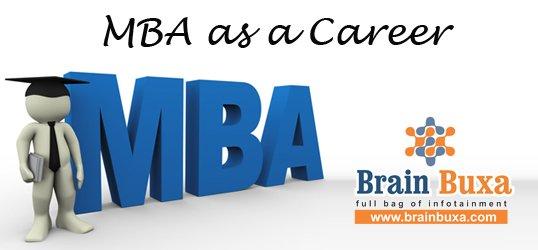 MBA as a Career