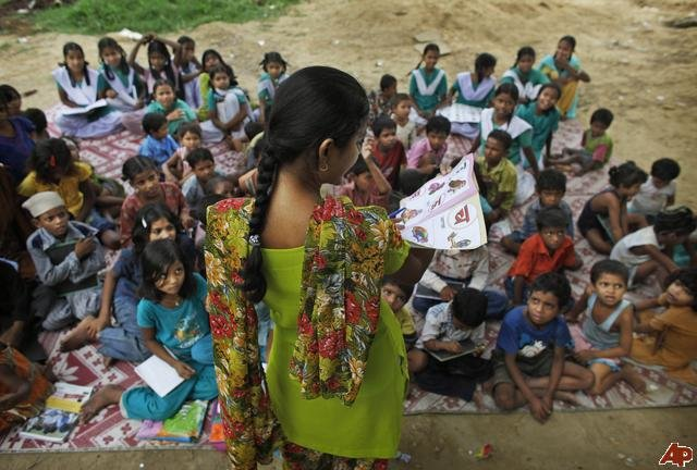 literacy in india