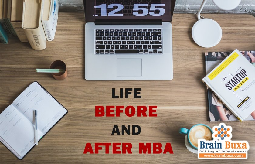Life before and after MBA