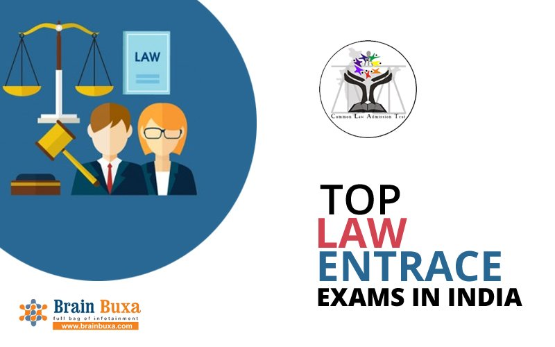 Top law entrance exams in India