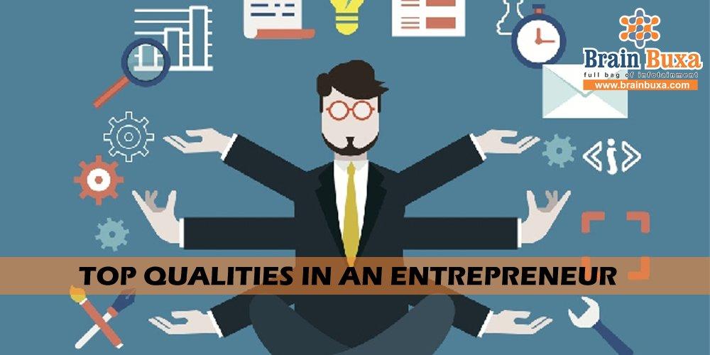 Top qualities in an Entrepreneur