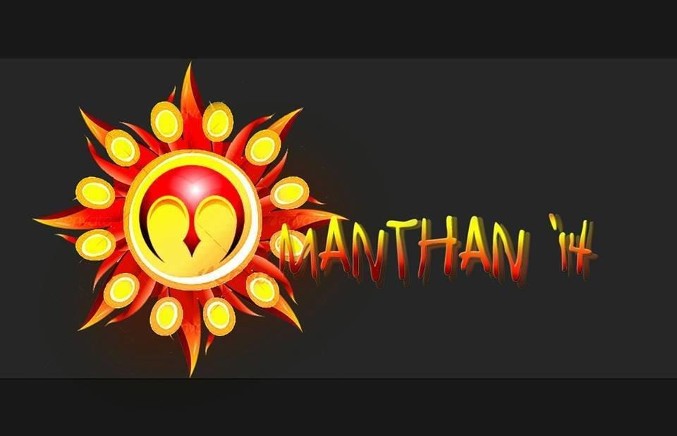 MANTHAN 14 logo