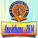 ANUSHTHANA 2014 logo