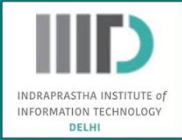 IIIT-Delhi Research Showcase logo