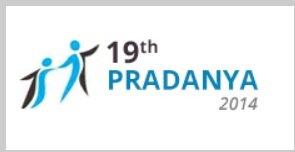 19th PRADANYA 2014 logo
