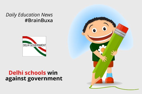 Delhi schools win against government