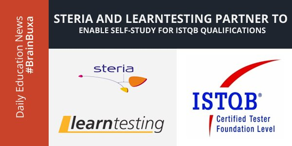 Image of Steria and Learntesting Partner to enable self-study for ISTQB Qualifications | Education News Photo