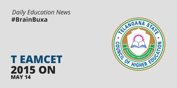 Image of T Eamcet 2015 on May 14   Education News Photo