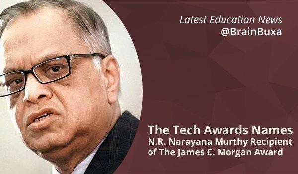 Image of The Tech Awards Names N.R. Narayana Murthy Recipient of The James C. Morgan Award | Education News Photo