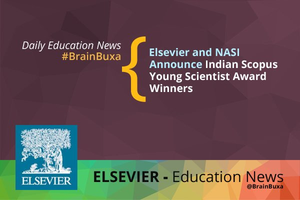 Image of Elsevier and NASI Announce Indian Scopus Young Scientist Award Winners | Education News Photo