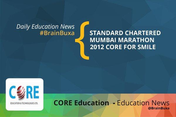 Image of Standard Chartered Mumbai Marathon 2012: Core for Smile | Education News Photo