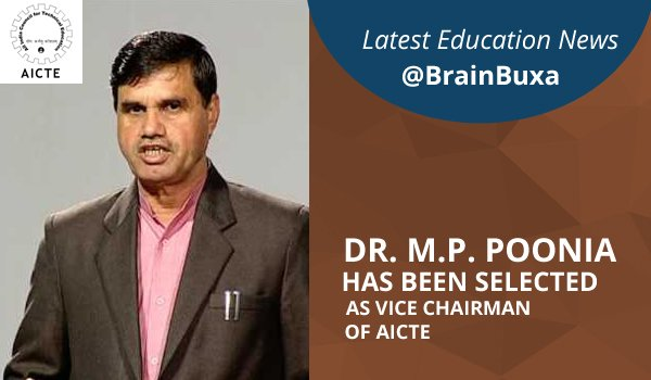 Image of Dr. M.P. Poonia to take over as AICTE's New Vice Chairman | Education News Photo