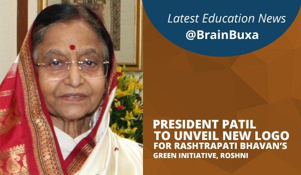 Image of President Patil to Unveil New Logo for Rashtrapati Bhavan's Green Initiative, Roshni | Education News Photo