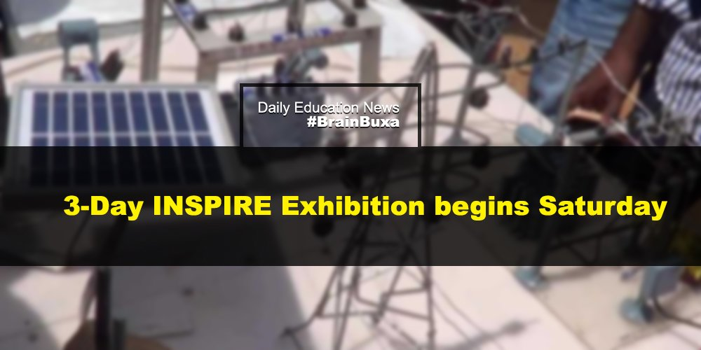 3-Day INSPIRE Exhibition begins Saturday