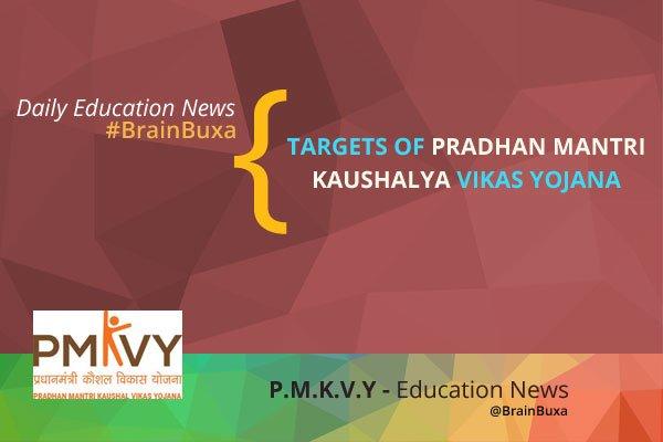 Image of Targets of Pradhan Mantri Kaushalya Vikas Yojna | Education News Photo