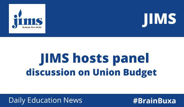 Image of JIMS hosts panel discussion on Union Budget | Education News Photo