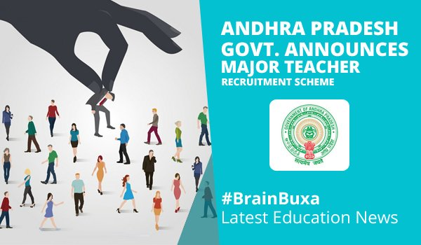 Image of Andhra Pradesh Govt. announces major Teacher Recruitment scheme   Education News Photo