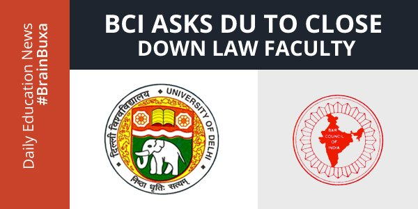 Image of BCI asks DU to close down Law Faculty | Education News Photo