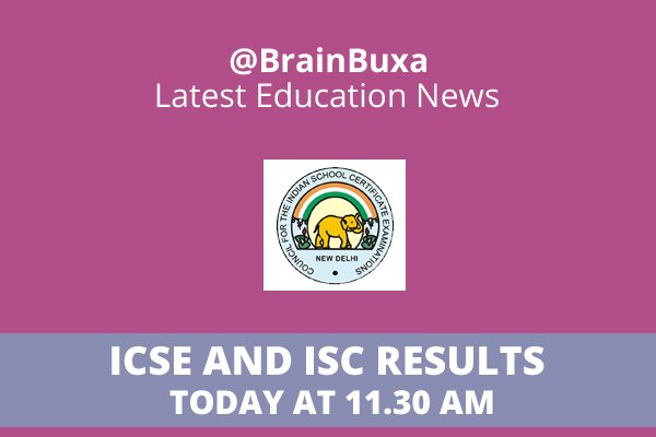 Image of ICSE and ISC results today at 11.30 am | Education News Photo