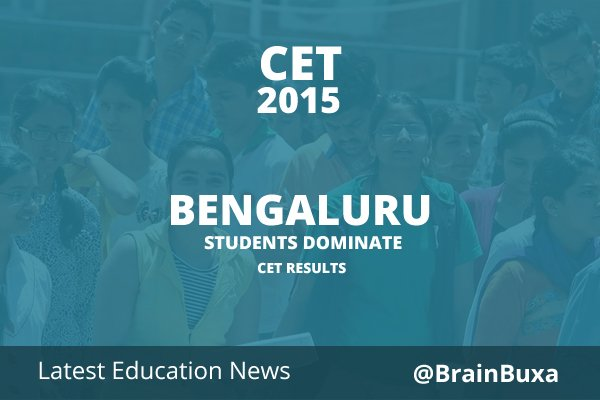 Image of Bengaluru students dominate CET results | Education News Photo