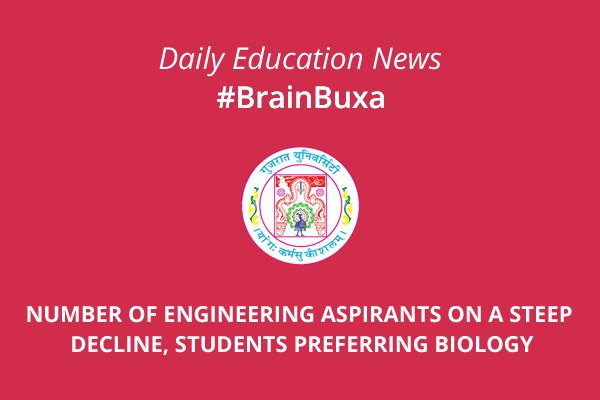 Image of Number of engineering aspirants on a steep decline, students preferring Biology | Education News Photo