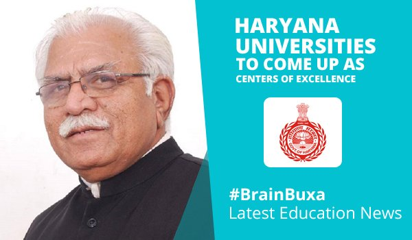 Haryana Universities to come up as Centers of Excellence