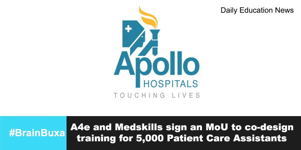 Image of A4e and Medskills sign an MoU to co-design training for 5,000 Patient Care Assistants | Education News Photo