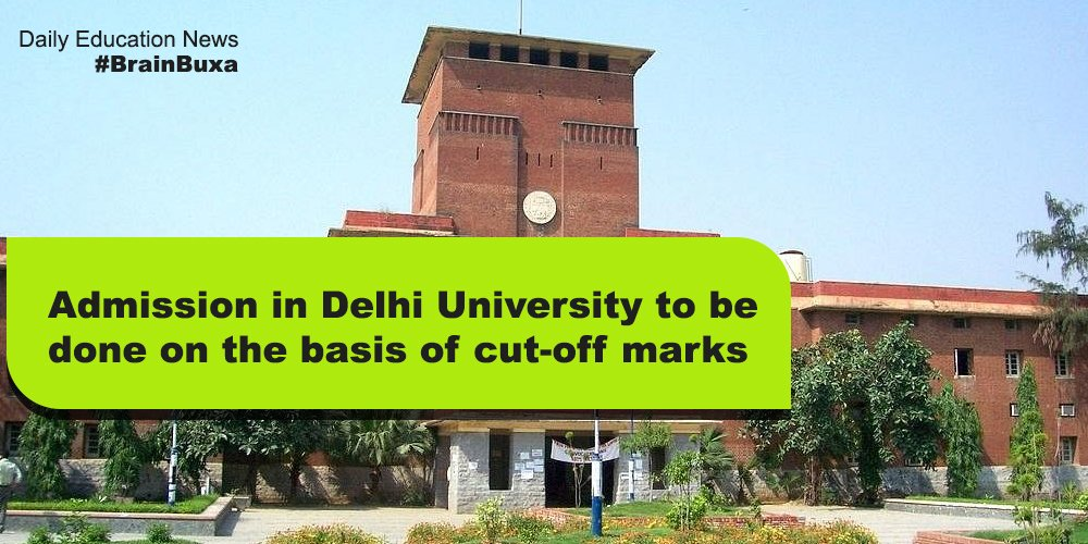 Image of Admission in Delhi University to be done on the basis of cut-off marks | Education News Photo