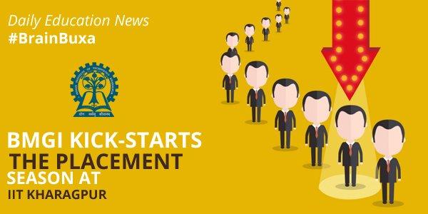 Image of BMGI Kick-Starts the Placement Season at IIT Kharagpur | Education News Photo