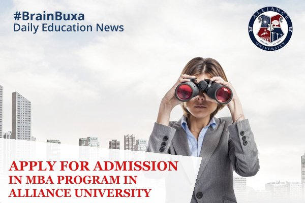 Image of Apply for Admission in MBA Program in Alliance University | Education News Photo