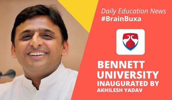 Image of Bennett university inaugurated by Akhilesh Yadav | Education News Photo