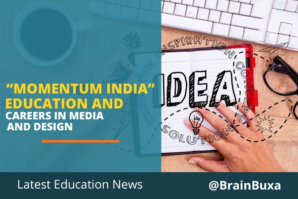 """Image of """"Momentum India"""" Education and Careers in Media and Design 