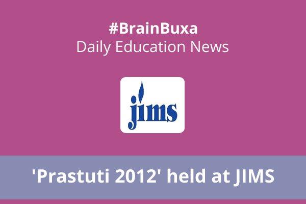 Image of 'Prastuti 2012' held at JIMS   Education News Photo
