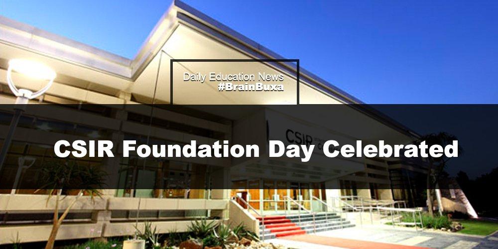 CSIR Foundation Day Celebrated