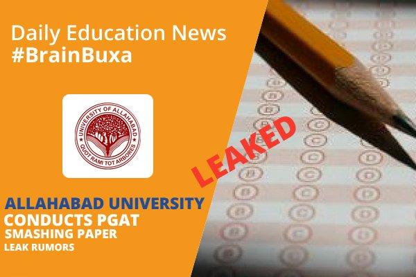 Image of Allahabad University Conducts PGAT Smashing Paper Leak Rumors | Education News Photo