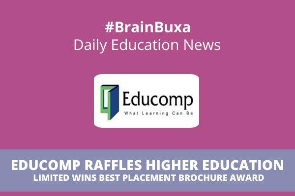 Educomp Raffles Higher Education Limited wins Best Placement Brochure Award