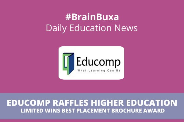 Image of Educomp Raffles Higher Education Limited wins Best Placement Brochure Award | Education News Photo