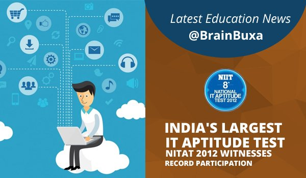 Image of India's largest IT Aptitude Test - NITAT 2012 witnesses record participation | Education News Photo
