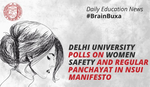 Image of Delhi University polls on women safety and regular Panchayat in NSUI manifesto | Education News Photo