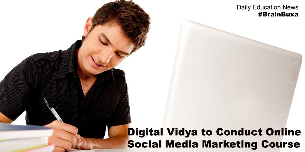 Digital Vidya to Conduct Online Social Media Marketing Course