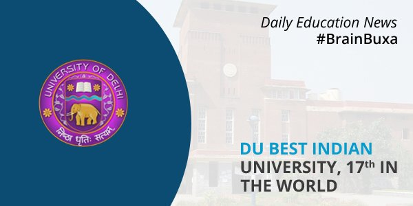 Image of DU best Indian University, 17th in the world   Education News Photo